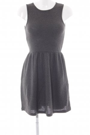 Only Kurzarmkleid anthrazit Casual-Look