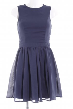 Only Kurzarmkleid dunkelblau Elegant