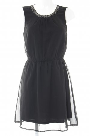 Only Kurzarmkleid schwarz Elegant