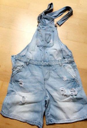 Only kurze Jeans-Latzhose