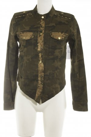 Only Kurzjacke Camouflagemuster Military-Look