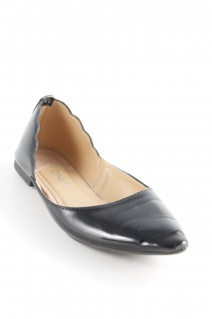 Only Patent Leather Ballerinas black classic style