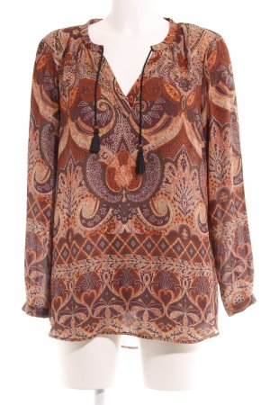 Only Langarm-Bluse florales Muster Casual-Look