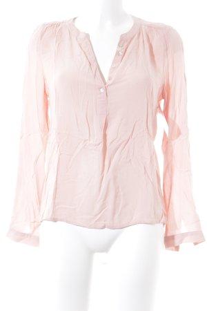 Only Langarm-Bluse nude schlichter Stil