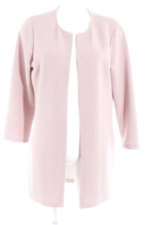 Only Giacca lunga rosa antico motivo trapuntato stile casual