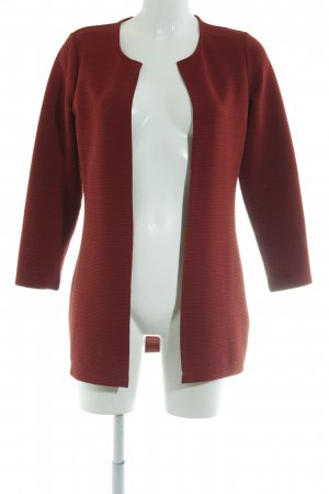 Only Lange Jacke rot Allover-Druck Casual-Look