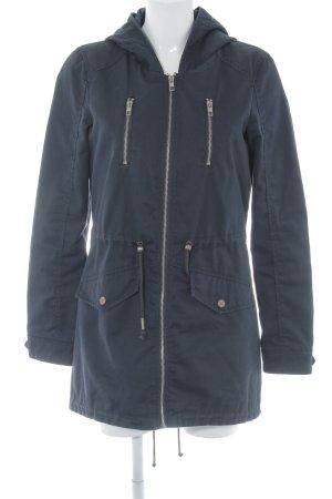 Only Lange Jacke dunkelblau Casual-Look