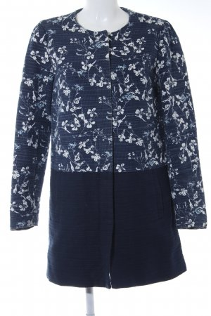 Only Lange Jacke florales Muster Street-Fashion-Look