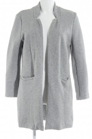 Only Chaqueta larga gris claro estampado acolchado estilo «business»