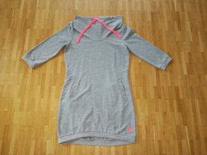 Only Jersey largo gris-rosa neón