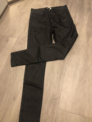 Only Hoge taille jeans zwart