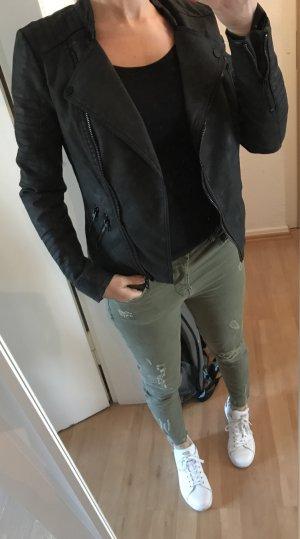 Only Lederjacke (Kunstleder) in 34
