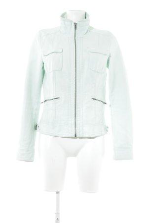 Only Lederjacke mint Biker-Look
