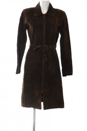 Only Leather Coat brown business style