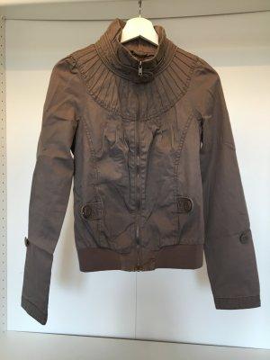 ONLY Leichte Jacke in braun - Größe S