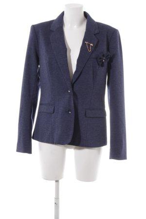 Only Long-Blazer dunkelblau Business-Look