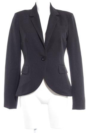 Only Long-Blazer schwarz Business-Look