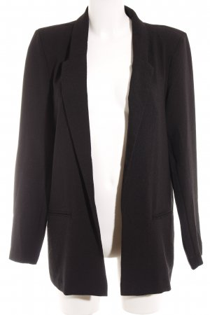 Only Long-Blazer schwarz Casual-Look
