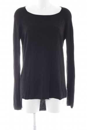 Only Longpullover schwarz Casual-Look