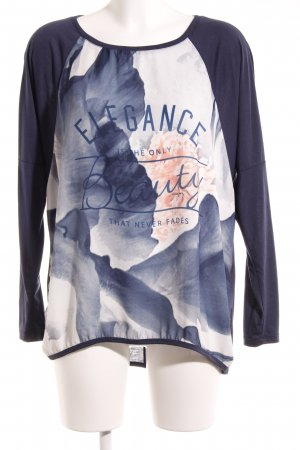 Only Longsleeve florales Muster Casual-Look