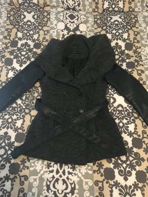 Only Between-Seasons-Coat black-dark grey