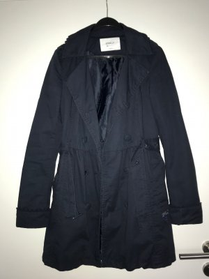 Only Trenchcoat donkerblauw
