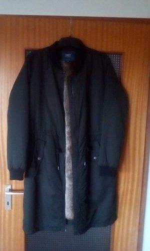 ONLY Mantel in dunkelgrün NEU