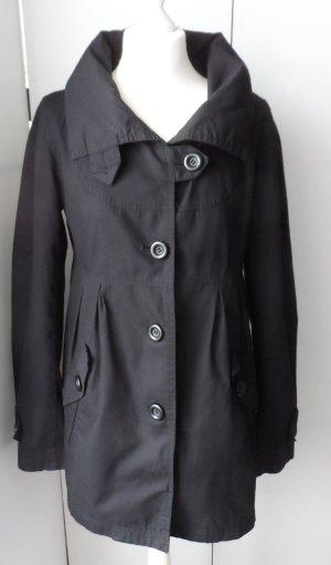Only Short Coat black mixture fibre
