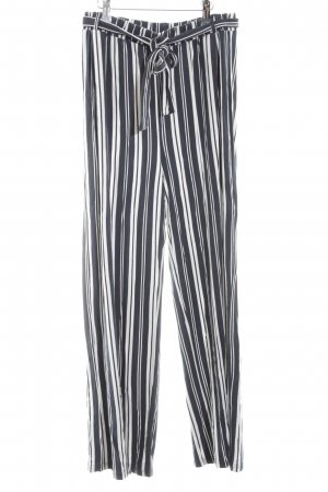 Only Marlene Trousers black-white allover print casual look