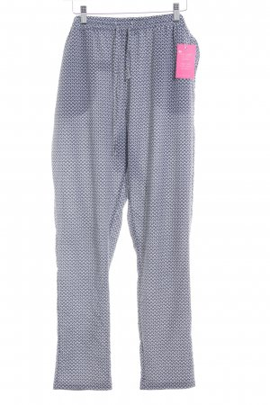 Only Marlene Trousers dark blue-light grey check pattern simple style