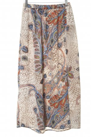Only Maxirock florales Muster Hippie-Look