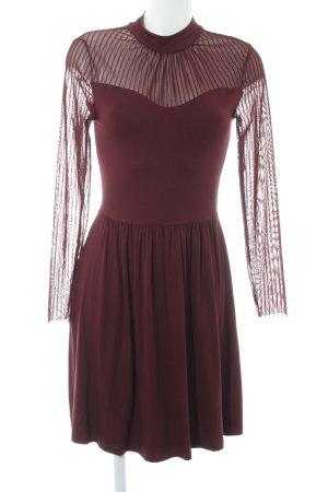Only Midi-jurk gestreept patroon elegant