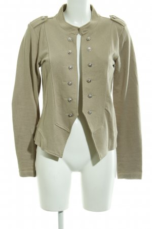 Only Chaqueta militar beige look casual