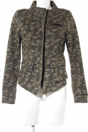 Only Militair jack camouflageprint militaire uitstraling