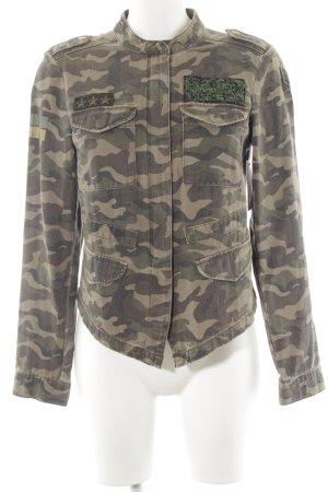 Only Veste militaire motif de camouflage style safari