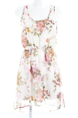 Only Minikleid Blumenmuster Casual-Look