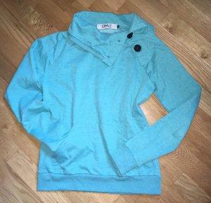 ONLY Nadine L/S Highneck Sweater Pullover mit Knöpfen