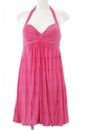 Only Neckholderkleid pink Party-Look