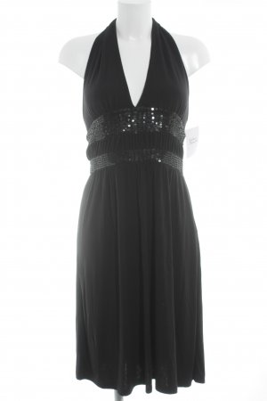 Only Halter Dress black casual look