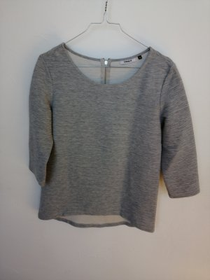 Only Camicia a coste argento-grigio chiaro