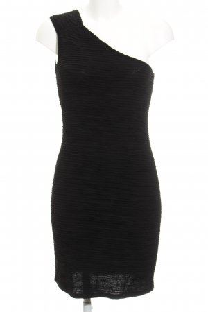Only One Shoulder Dress black party style
