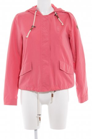 Only Outdoor Jacket salmon casual look