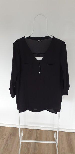 Only Oversized Blouse black