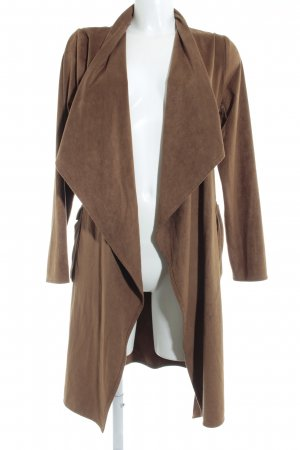 Only Oversized Coat light brown casual look
