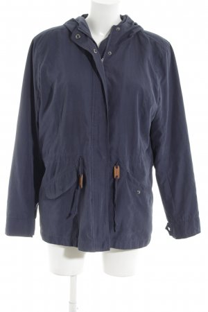Only Parka blue casual look