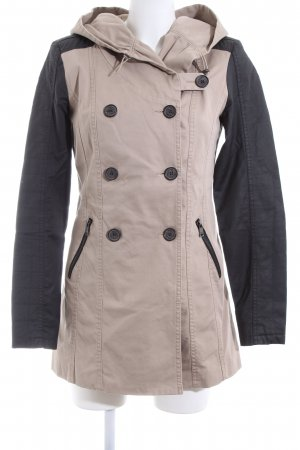 Only Parka creme-schwarz Casual-Look