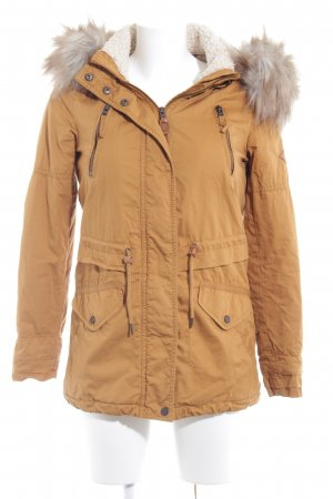 Only Parka dunkelgelb Casual-Look