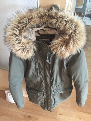 Only Parka in Olivgrün