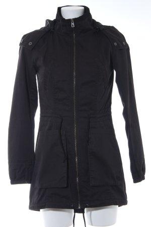 Only Parka zwart straat-mode uitstraling
