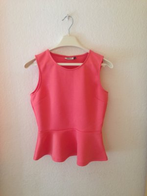 Only Peplum Shirt Coral